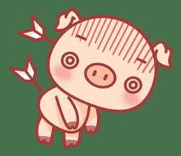 Piggy sticker #263987