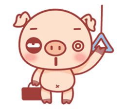 Piggy sticker #263993