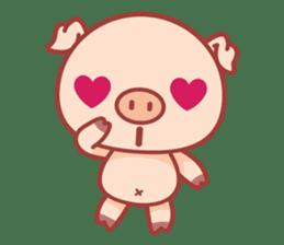 Piggy sticker #263995