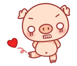 Piggy sticker #263998