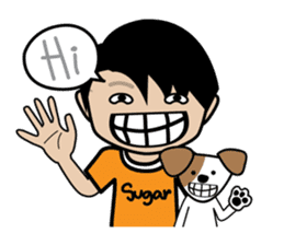 Sugar Pun Family sticker #264665