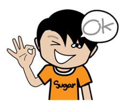 Sugar Pun Family sticker #264670