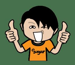 Sugar Pun Family sticker #264672
