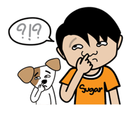 Sugar Pun Family sticker #264674