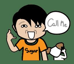 Sugar Pun Family sticker #264676