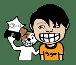 Sugar Pun Family sticker #264677
