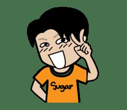 Sugar Pun Family sticker #264685