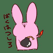 catandrabbit sticker #265056
