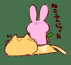 catandrabbit sticker #265062