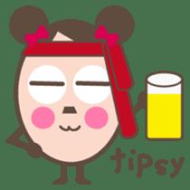 Cyobikochan English version sticker #265337