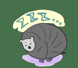 non-nervous animals sticker #265531