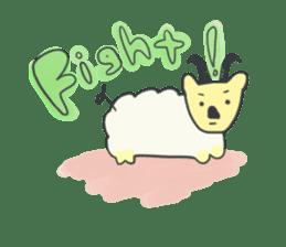 non-nervous animals sticker #265534