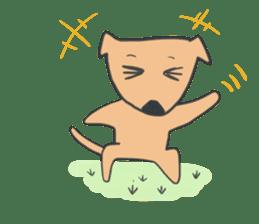 non-nervous animals sticker #265536
