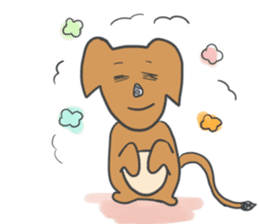 non-nervous animals sticker #265537