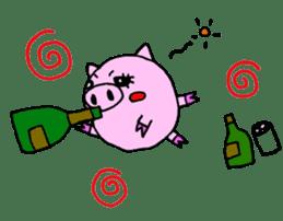 SHAWTY Animal sticker #265562