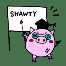 SHAWTY Animal sticker #265570