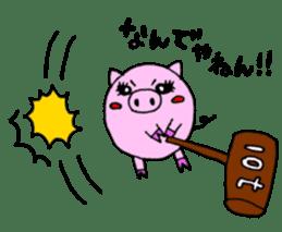 SHAWTY Animal sticker #265575