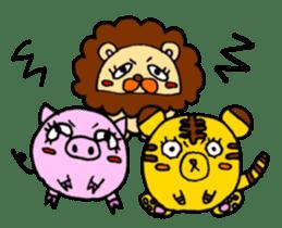 SHAWTY Animal sticker #265576
