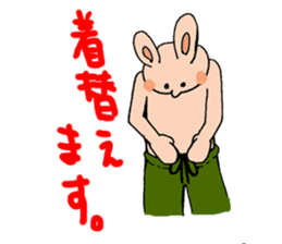 NO-TENKIUSAGI sticker #266748