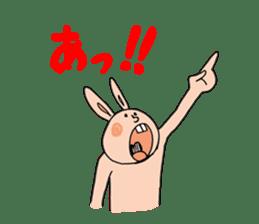 NO-TENKIUSAGI sticker #266755