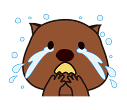 This is cute Wombat's Line Stamps! sticker #267469