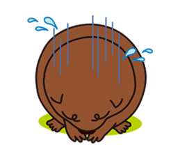 This is cute Wombat's Line Stamps! sticker #267482