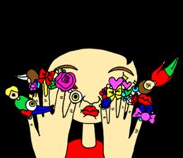 ERIMAKIs Pretty Girl sticker #268513