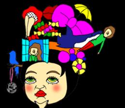 ERIMAKIs Pretty Girl sticker #268518