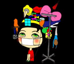 ERIMAKIs Pretty Girl sticker #268519