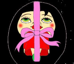 ERIMAKIs Pretty Girl sticker #268526