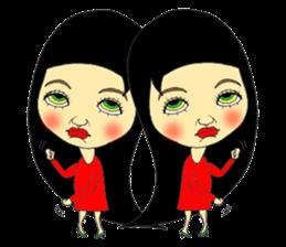 ERIMAKIs Pretty Girl sticker #268539