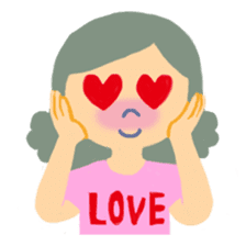 Deliver my true heart - I message sticker #268710