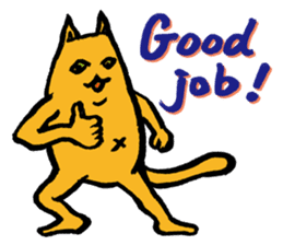 Creepy Cat MUNEZO (English ver.) sticker #268906