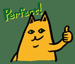 Creepy Cat MUNEZO (English ver.) sticker #268911