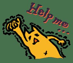 Creepy Cat MUNEZO (English ver.) sticker #268913