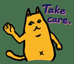 Creepy Cat MUNEZO (English ver.) sticker #268925