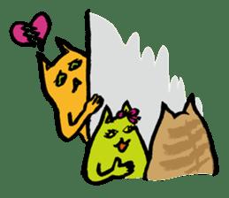 Creepy Cat MUNEZO (English ver.) sticker #268932