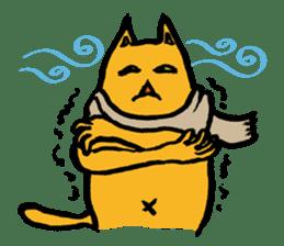 Creepy Cat MUNEZO (English ver.) sticker #268939