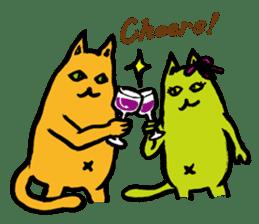 Creepy Cat MUNEZO (English ver.) sticker #268940