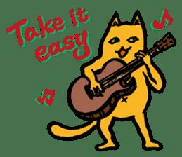 Creepy Cat MUNEZO (English ver.) sticker #268943