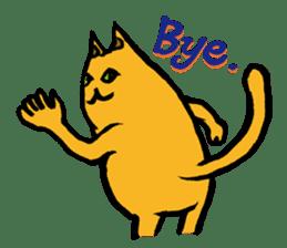 Creepy Cat MUNEZO (English ver.) sticker #268944