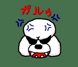 Teku the Poodle sticker #269124