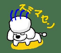 Teku the Poodle sticker #269131