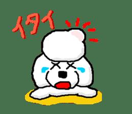 Teku the Poodle sticker #269138