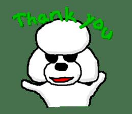 Teku the Poodle sticker #269139