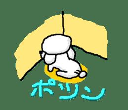 Teku the Poodle sticker #269141
