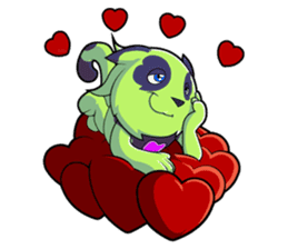 SPOTI AND PATCH IN LOVE sticker #269269