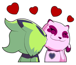 SPOTI AND PATCH IN LOVE sticker #269273