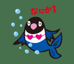 Masked lovebird & Toco Toucan sticker #269927