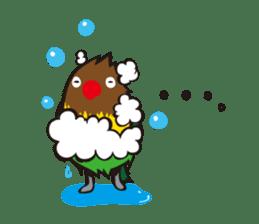 Masked lovebird & Toco Toucan sticker #269935